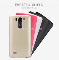 10Pcs/Lot,Genuine Nillkin Super Shield Shell Hard Case Cover Skin Back + Screen Protector For LG G3 Beat