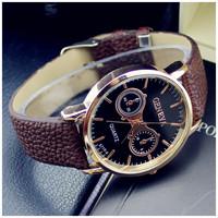 2014 New fashion design men's luxury brand logo watch quartz watch movement of military men and women sport watch 2014
