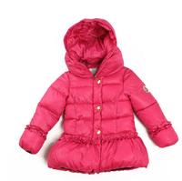 one piece 2014 cartoon winter jacket girls coat kids down Coats children warm outerwear Candy colors Free shipping