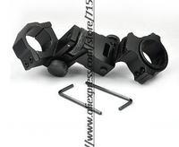 Adjustable laser sight hunting rifle gun scope rail mounts