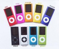 "4th 16GB 1.8"" LCD MP3 MP4 PPLAYERMP3 with FM Radio suport video 9colors Free Shipping"