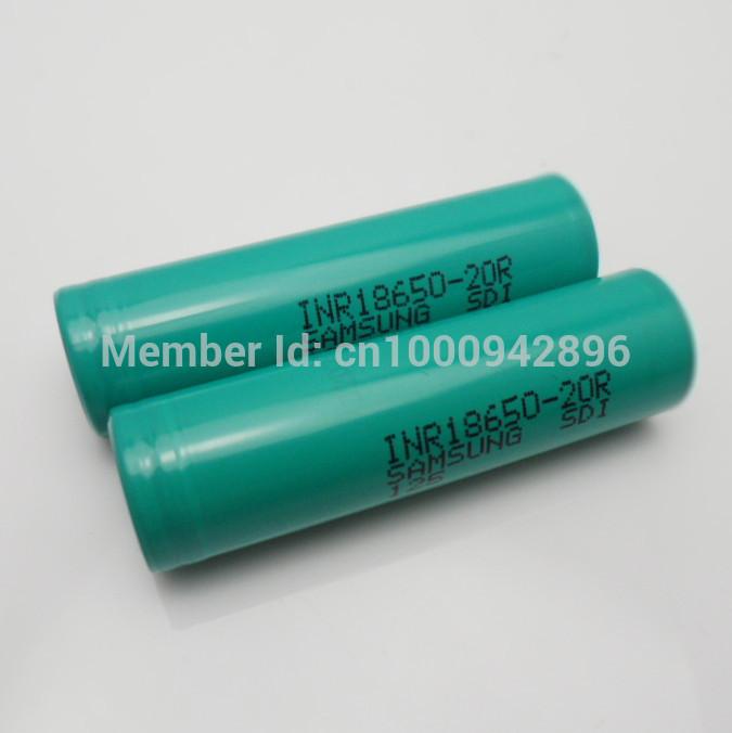 Аккумулятор ! 2 /18650 2000mAh Samsung INR18650 20R 20A внешний аккумулятор samsung eb pn930csrgru 10200mah серый