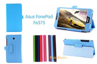 New PU Leather Case Cover Stand  For ASUS Fonepad 7 FE375 FE375CG 7 inch Tablet PC ,free shipping!!!