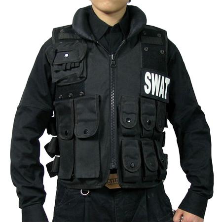 Men SWAT FBI Security Protective CS Vest Outdo