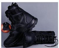 New Arrival Outdoor military fans leisure Blackhawk light assault tactical boots hiking desert shoes / breathable black Brown
