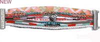 New Free Shipping Retail/Wholesale Chic Magnetized Clasp Brazilian Glamour Wrist Hipanema Holiday bohemian Bracelet HIP085