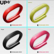 Hot Selling 100% Original Jawbone UP24 Smart Wearable Electronic Wristband Activity Sleep Tracker 5 colors WIRELESS SYNC