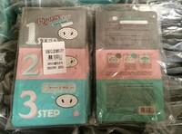 5 pcs Holika Holika Pig-Nose Clear Black Head 3-Step Kit