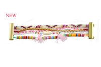New Free Shipping Retail/Wholesale Chic Magnetized Clasp Brazilian Glamour Wrist Hipanema Holiday bohemian Bracelet HIP083