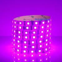 Pink 24V led strip 5050 60 led/m SMD LED light strip light  flexible Waterproof IP65 Taiwan HUGA