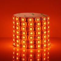 Orange 12V led strip 5050 60 led/m SMD LED light strip light  flexible Waterproof IP65 Taiwan HUGA