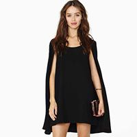 Magic baby cloak of paragraph one-piece dress o-neck elegant chiffon dress