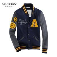 Men's jacket outerwear lovers design casual sports outerwear jackets baseball shirt slim