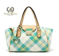 FREE SHIPPING New  2014 arrival fresh check dumplings women's handbag