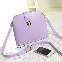 2014 women's handbag trend candy color shoulder messenger bag bucket bag  small cross-body bags