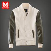 2014 Autumn Men's leather Clothing Jacket slim Coat Outerwear casual Fashion men's clothing