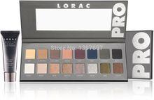 Lorac pro paleta de sombra de ojos 2 16 colores con el envío libre de maquillaje lorac imprimación ojo(China (Mainland))