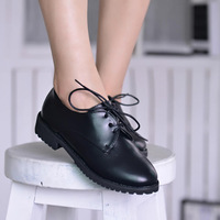 Free shipping British wind of new fund of 2014 autumn with han edition low help shoes wholesale fashion women's shoes Y26