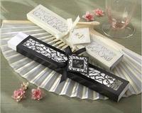 Freeshipping 20PCS/LOT Wedding Gifts Silk Fan in Elegant Gift Box Free Dropshipping