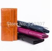 2014 Design Genuine Leather women's wallets fashion women's Clutch large capacity coin purse Vintage cowhide ladies' wallet QB22