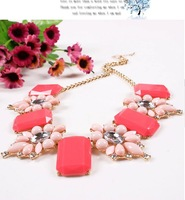 2014 Fashion Jewelry Europe and America top brand vintage exaggerate rhinestone female pendant&necklace