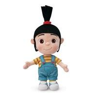 Free Shipping 2014 New  Original Despicable Me Minion Kids Plush Toys Little Girls Agnes Stuffed Dolls For Children 18cm