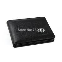 Car emblem 100% Leather Driver's license leather sheath / Driving License Bag for Lexus Honda Land Rover
