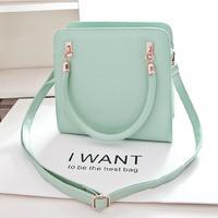 Free Shipping! 2014 New Style Shoulder Bag Fashion Women Messenger Bags Simple Women Handbag Hot Sale Totes Solid Crossbody Bags