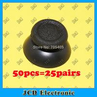 50pcs Mushroom Thumbsticks Analog Replacement Plastic 3D Joystick Stick Cap cover for PS4 Controller cap