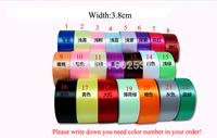 Rainbow width 3.8cm* 22m/pc marriage room decorated garland birthday wedding party decor Ribbon gift tie ribbon