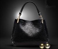 New 2014 Fashion Desigual Brand Leather Women Handbag Shoulder Bags Crocodile Women Messenger Bags Totes Bolsas Travel Bags