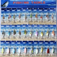 NEW PACKAGE Metal lure 30x spinnerbait  super new fishing hardlure pike salmon bass card 2
