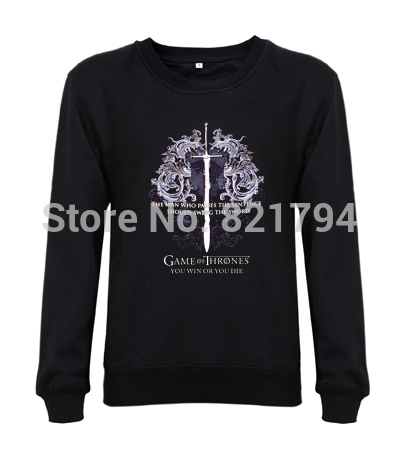 Design Clothes Games For Kids men sweatshirts Game of