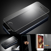 "New 0.26mm 2.5D 9H Proof Tempered Glass Screen Protector Film Cover & Free Cloth For Apple iPhone 6 4.7"" + Retail Package"