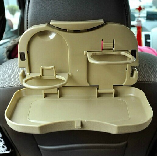 Car vehicle food tray drink cup computer pad phone holder seat desk auto table - Notepad holder for car ...