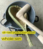 Guilin boiled tea pot play differential cook tool iron hammer electric furnace colander Camellia tea pot bamboo weaving mesh set