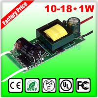 Constant Current Led Power Supply LED Driver 18W 300ma 18x1w 12W 14W 15W 16w LED transformer AC 110V 220V 240V