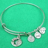 New Arrival Alex and Ani Style Bangles Goddess Charm Bracelet & Bangles Free Shipping
