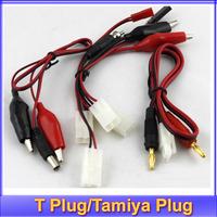 free shipping IMAX B6 B6AC/B8 2S-6S Battery Balance Charger Cable Alligator Clips T Plug/Tamiya Plug