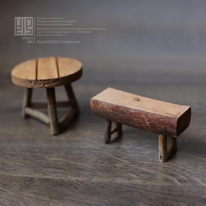 Online kopen wholesale kleine houten krukje uit china kleine houten krukje groothandel - Decoratie tafel eetkamer ...