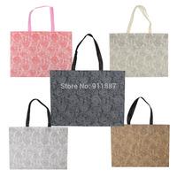 2pcs Fashion New Eco-Friendly Handle Storage Bags Shopping Bag Multicolos For Choose