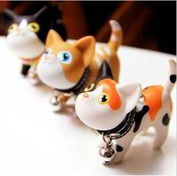 Cute Cartoon Cat Shaped Key Chain Lovely Keychain