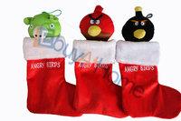 Wholesale Christmas stockings animal socks Christmas gift decorations good quality 20pcs/lot mixed style free shipping