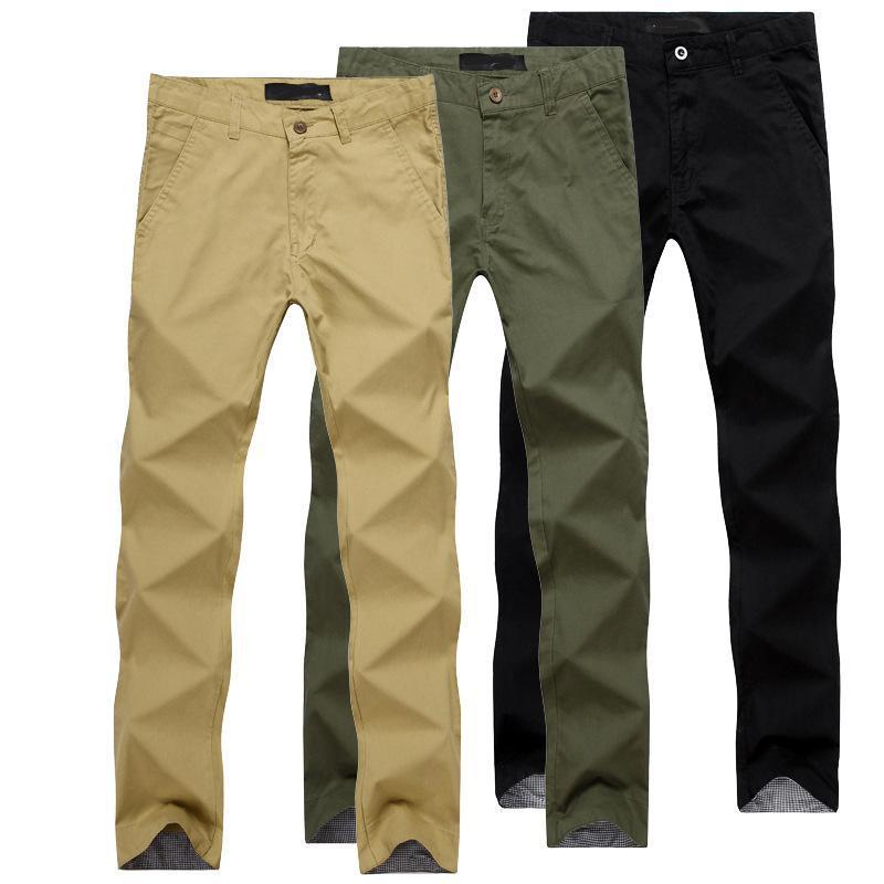 Mens Pants Casual Fashion Slim Fit Calca Social Trousers Khaki Pants Men Tracksuit Bottoms Roupas Masculinas Black Pants For Men(China (Mainland))