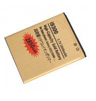 10pcs/lot Gold 2850mAh Replacement Li-ion Golden Battery Batterie Batterij For Samsung Galaxy S3 SIII i9300 i747 T999 L710