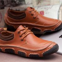 2014 New Fashion boots cool&winter warm Men Shoes Leather Shoes Men's Flats Shoes Low Men Sneakers for men Oxford Shoes