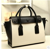 New design fashion black and white contrast color Wings package women messenger bags shoulder bags handbags Lady bags#D040