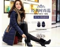 Free shipping 2014  fashion Plus size winter women coat  jacket white duck down jacket  outerwear  YRF264