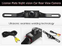 628*582 Pixels 120 Degree Wide Viewing Angle License Plate Night Vision car reverse camera  Backup car rear view camera