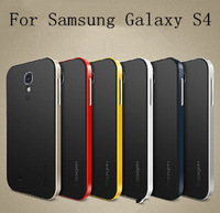 New Korean Style Neo Hybrid Bumblebee Spigen For Samsung Galaxy SIV S4 i9500 Phone Case Cover